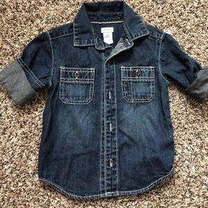 Carter's Shirts & Tops - Cute jeans shirt